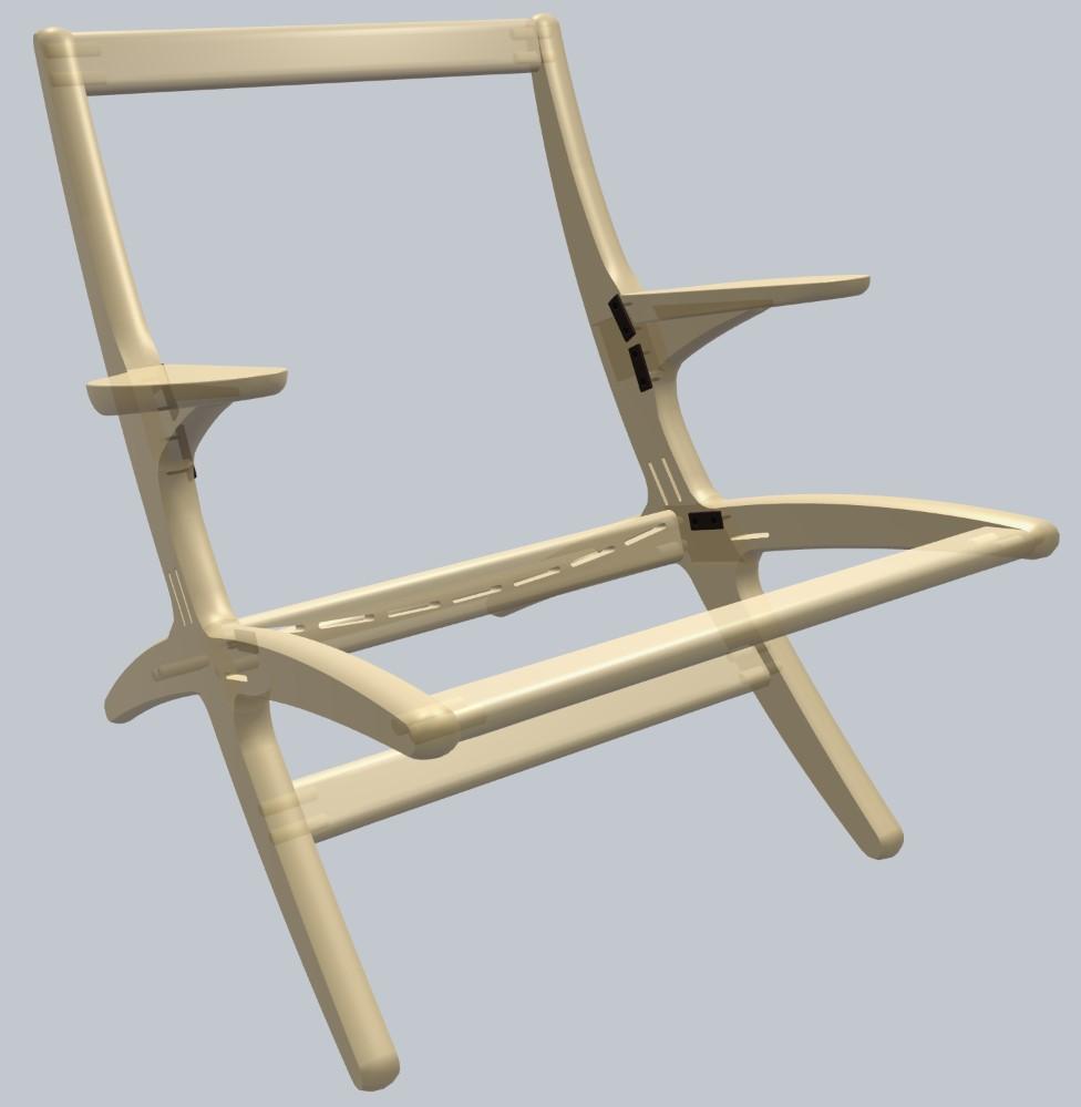 Model: CJ-11 Lounge Chair