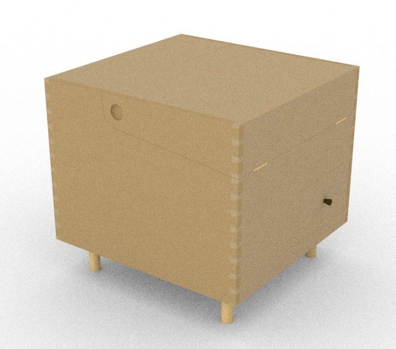 Model: Bar Cube